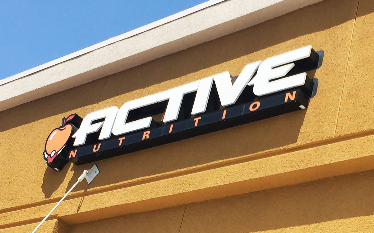 Active Nutrition Channel Letters signage