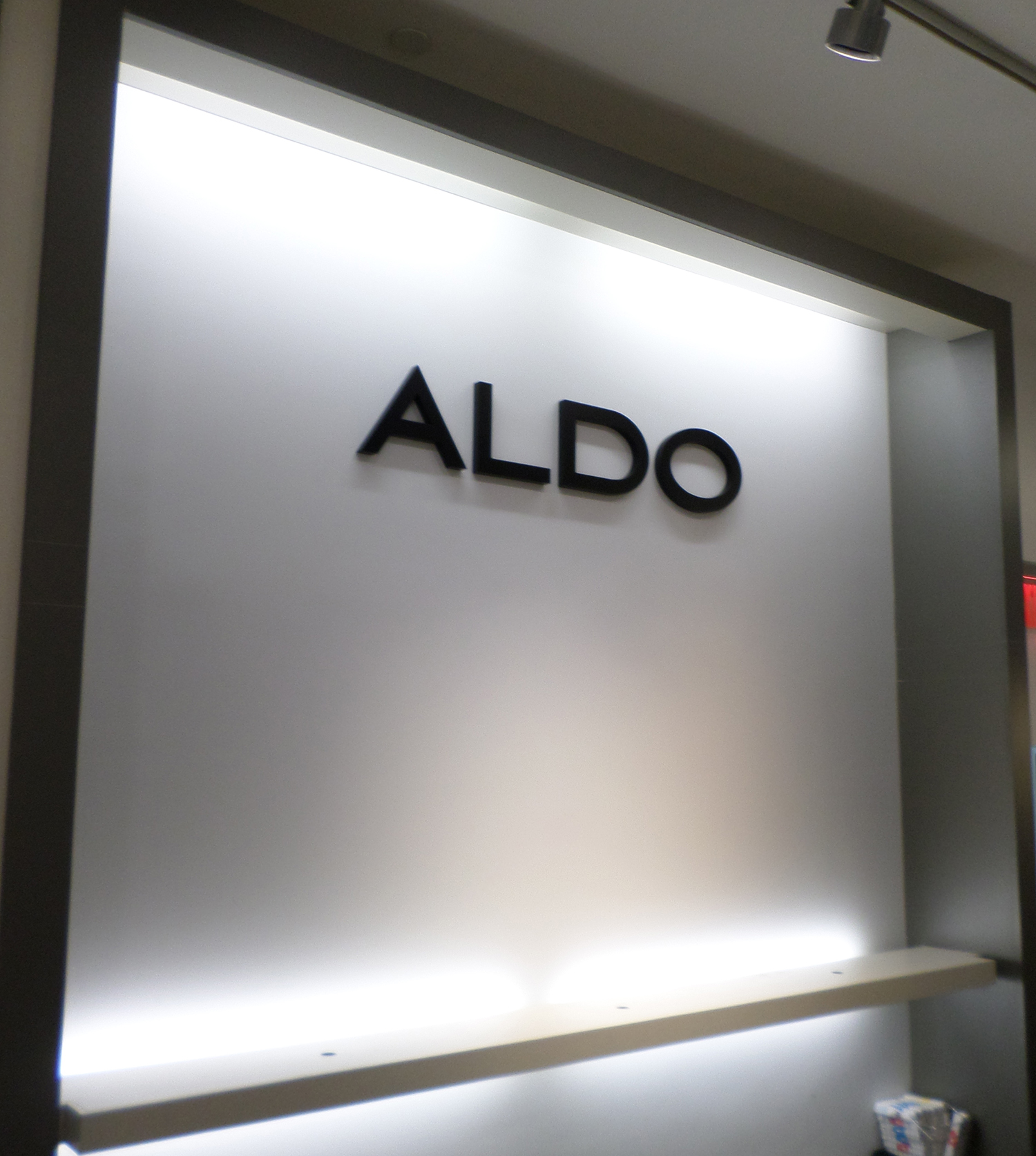 Dimensional Letter sign For ALDO, Westfield Valleyfair Mall