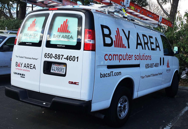 Bay AreaComputers, vehicle signage