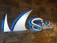 Barracuda Networks Studio Signage